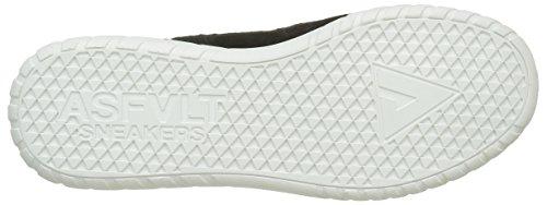 Caramel Yuma Unisex black Sneaker Asfvlt erwachsene Noir Y4a0RWw67