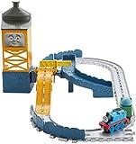 TRENINO THOMAS- Cava Blue Mountain, Pista per Trenini, Include Locomotiva Giocattolo in Metallo, FJP82