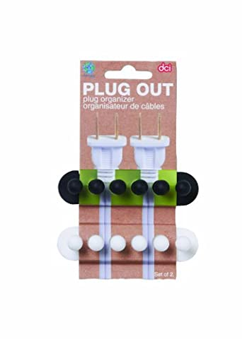 DCI Plug Out Cord Organizer Set of 2 (Assorted