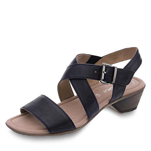 Bleu Femme 64 540 Gabor 56 Pour Océan Sandales OY6wx chaussures ... 7b5c58c4727f