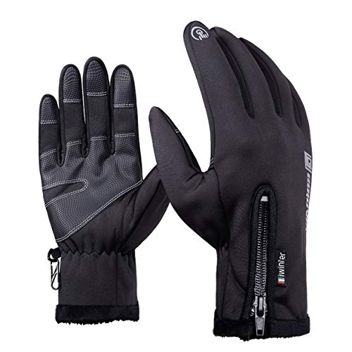 Preisvergleich Produktbild Unitedheart Motorradhandschuhe Reißverschluss Touchscreen Für Männer Moto Handschuh Elektrofahrrad Motocicleta Os Carros Eletricos