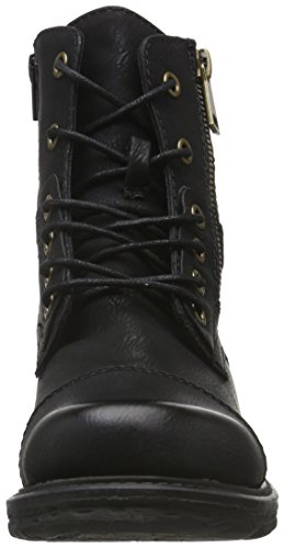 Jane Klain - Boot, Stivali a metà gamba con imbottitura pesante Donna Nero (Schwarz (000 Black))