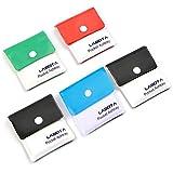 LABOTA Confezione da 5 portacenere - Posacenere portatile tascabili per sigarette Compact PVC...