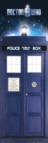 Doctor Who Türposter Tardis + Zusatzartikel