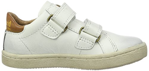 Bisgaard Unisex-Kinder Klettschuhe Low-Top Weiß (3000-1 White)