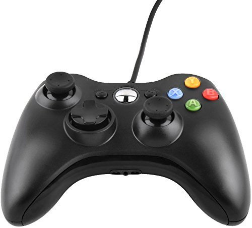 JAMSWALL Controller für Xbox 360,USB Wired Gaming Controller Gamepad Joysticks Controller für Xbox 360 PC Für Windows 7 Für Microsoft Wired Controller Xbox 360 Wired Controller PC Xbox - 360 Xbox Pc-spiele