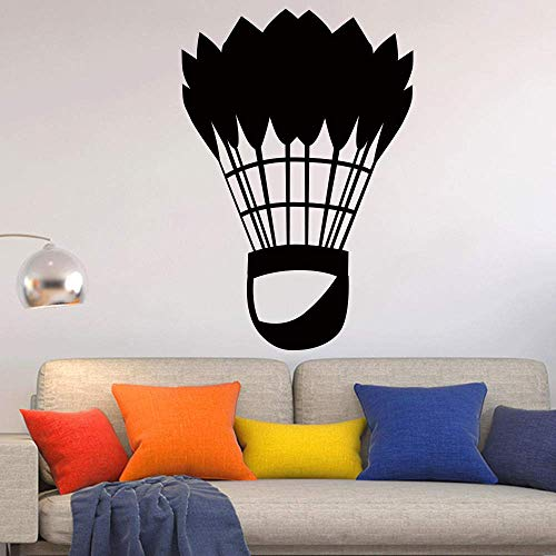 Wandaufkleber Klassische Badminton Sport Kunst Für Wohnkultur Wohnzimmer Dekoration Aufkleber Papier Wandbilder 58 * 85 Cm