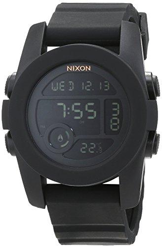 Uhren Männer Nixon-unit (Nixon Unisex-Armbanduhr The Unit 40 Digital Quarz Silikon A490001-00)