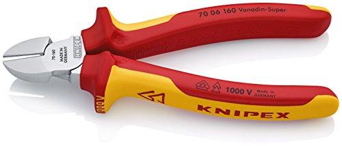 Knipex-70-06-160-VDE-Pince-coupante-de-ct-VDE-160-mm-Import-Allemagne