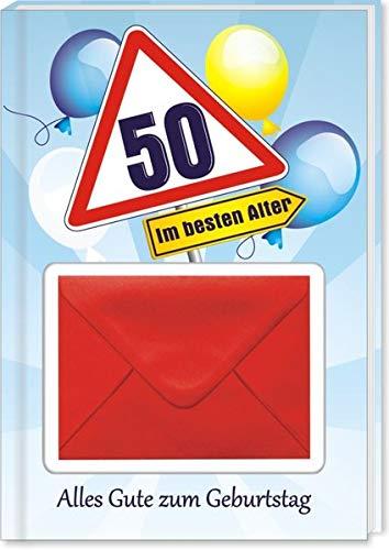 Zum Geburtstag - 50: Geld-Geschenkbuch