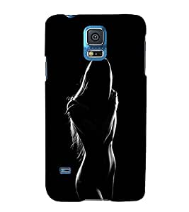 FUSON Nude Lady In Dark 3D Hard Polycarbonate Designer Back Case Cover for Samsung Galaxy Grand Neo I9060 :: Samsung Galaxy Grand Lite