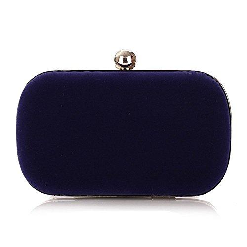 Eysee, Poschette giorno donna rosso Rose 16cm*9cm*5.5cm Sapphire blue