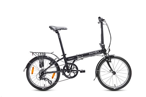 Dahon SPEED D7 - Bicicleta plegable, color Negra