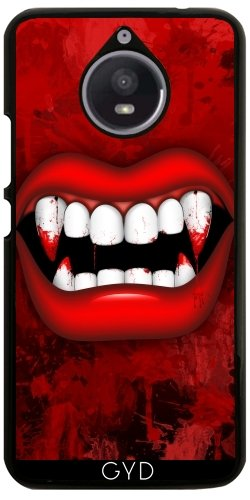 Hülle für Motorola Moto E4 Plus - Vampir by BluedarkArt