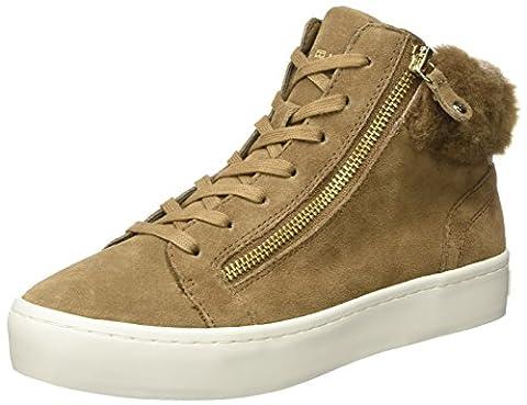 Tommy Hilfiger Damen J1285UPITER 1B1 Sneaker, Braun (Fudge), 36