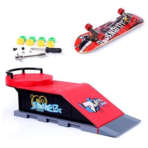 Mini Finger Skateboard und Ramp Zubehör Set