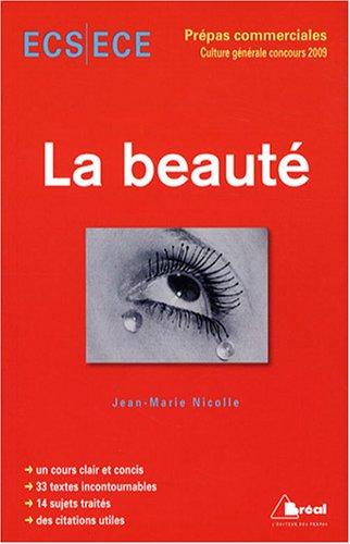 La beauté : Concours 2009 ECS/ECE