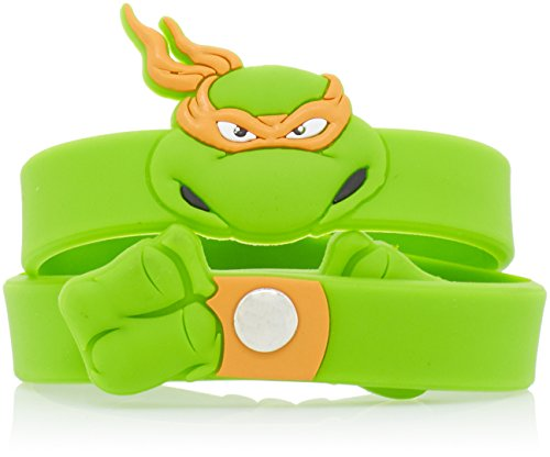 Teenage Mutant Ninja Turtles Armband mit Michelangelo-Figur, grün