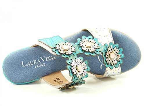 Laura Vita SL3063-4A Bettino 04 Zoccoli donna Blau