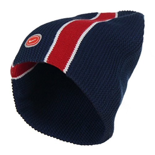 adults-nike-ribbed-double-knit-warm-navy-red-beanie-hat-568475-410