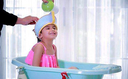 onedone r glable shampooing bain douche prot ger casquette visi re chapeau pour b b enfant. Black Bedroom Furniture Sets. Home Design Ideas