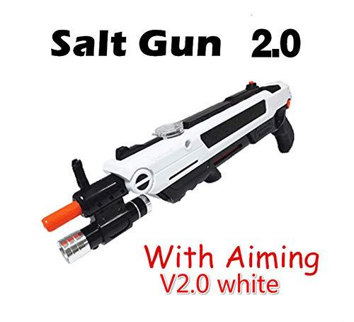 GJDAC Bug Eine Salt Fly Gun Salt Bullets Blaster Airsoft Für Bug Blow Gun Mosquito Salt Gun Kreative Moskito Modell Spielzeug Umwelt Salz Fly Mörder (Nacht Licht Zielen)