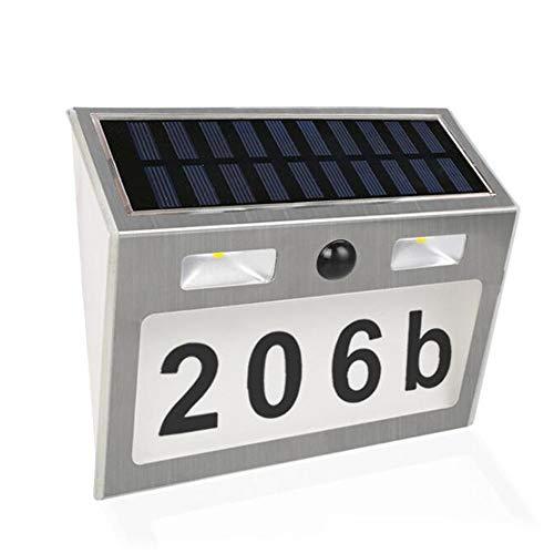 LIM Solarleuchten Außen, LED Solarlampe Mit Bewegungsmelder Solar Wandleuchte Solarlicht Wasserdichte Solar Beleuchtung Solarbetriebene Kabelloses Sicherheitslicht Für Gärten,Patio