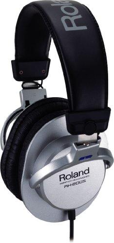 Roland RH-200S silber/schwarz  Kopfhörer - Roland E-drum