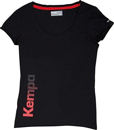 Kempa Damen T Shirt Statement, Schwarz, S, 200219402