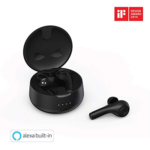Motorola Verve Buds 500 True Wireless Earbuds with Alexa (Black)