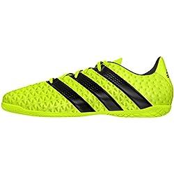 adidas Ace 16.4 IN, Botas de Fútbol para Hombre, Amarillo (Amasol / Negbas / Plamet), 43 1/3 EU