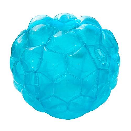 XHONG Bälle, aufblasbar, Luftpolster-Ball, Outdoor-Sport-Spielzeug, PVC Körper-Ball, lustiger Body Punching-Ball für Kinder und Erwachsene, blau, 60 * 60