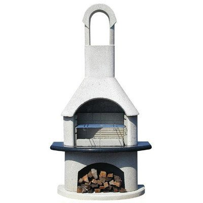 54cm Ambiente Masonry Charcoal Barbecue with Grid Grill