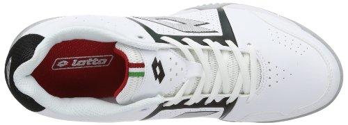 Lotto T-TOUR III 600, Scarpe da tennis uomo Bianco (Weiß (WHT/BLK))