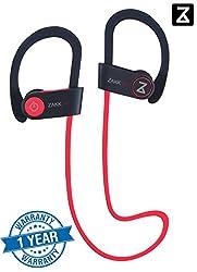 Zakk Air In-Ear Bluetooth Earphone with Mic (Red)/Bluetooth headset/Wireless headphones