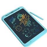 LIUJING LIUJING LCD Writing Tablet, 12-Zoll-Kinder Und Erwachsene Elektronische Schreibtafel, Wasserdicht Und Umweltfreundlich Für Home School Office-Graffiti Aufzeichnungen,Blau
