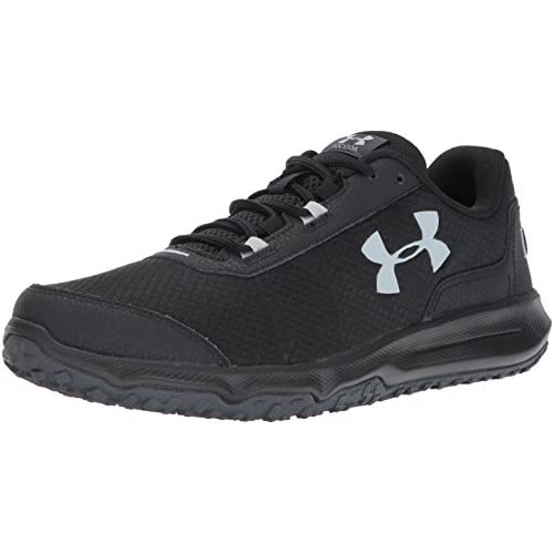 Under Armour Men's Toccoa Running Shoe, Stealth Gray (008)/Black, 8
