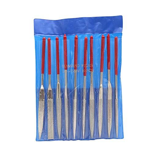 10 Teile / Satz Metall Ablage Werkzeug Ordner Holzbearbeitung Mini Datei Set Carving Tool (Datei-ordner Natürliche)