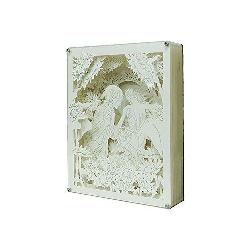 Doppel-15 Lautsprecher (Kristall Papier Tischlampe Doppel Farbe Valentine Nachttisch Licht DIY Warm Romantisches Geschenk ( Design : Remote control ))