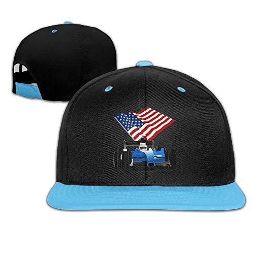 Car Kids Race Kostüm - Kids Hip Hop Baseball Caps and Hat Boy Girls Race Car American Flag Multicolor85