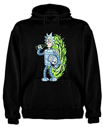 The Fan Tee Sudadera de NIÑOS Rick Divertida Friky Morty Smith Tiny 12-13 Años