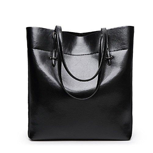 Eysee, Poschette giorno donna Nero marrone 30cm*35cm*12.5cm nero