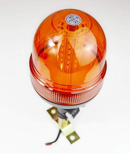 avertissement Flash LED Beacon rotatif pour la lumière Camion de voiture 9-36 V Strobe lumière LED Marquage E Route assistance