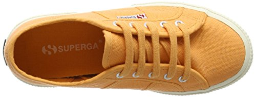 Superga Unisex Kinder 2750 Jcot Classic Sneakers Orange (orange Clay)