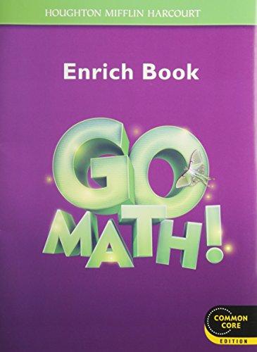 Go Math!: Student Enrichment Workbook Grade 3 (Houghton Mifflin Harcourt Go Math!)