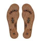 Semelle de massage magnétique amincissant Xshuai® - Pour soins des pieds - Semelles en gel pour thérapie par acupression  EU size 35-49 Men's size EU 40-45