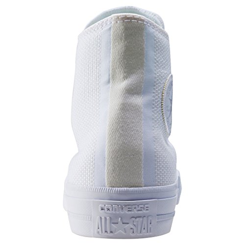 Converse Chuck Taylor All Star II, Sneaker a Collo Alto Unisex-Adulto White
