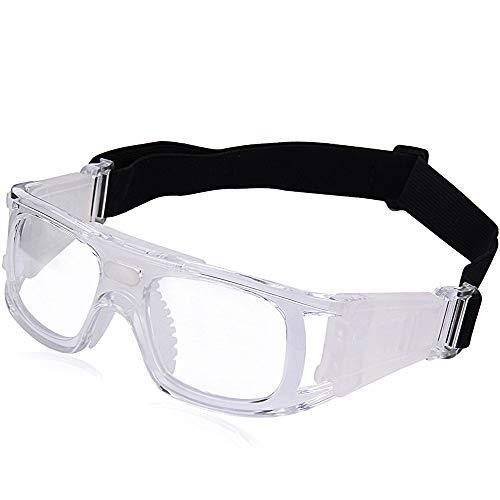 Shuxinmd Kühle Outdoor-Brille Outdoor Sports Protective Eyewear Schutzbrillen Anti Impact PC Lens UV-Schutz (Color : White)