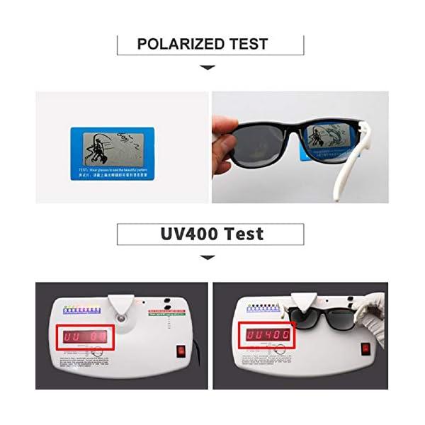 Flyfish Gafas de sol geniales para niños Gafas de sol para niños Niños Chicas Sunglass UV 400 Protección con estuche… 4