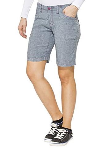 SALEWA - FREA CO DENIM W SHORTS Pantalons - S - Bleu - Femme